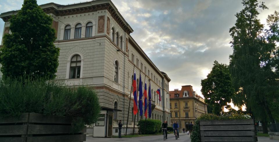 HDR de la casa del Presidente de Eslovenia