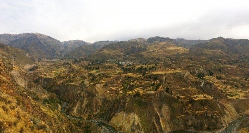 Panorámica del Valle del Colca