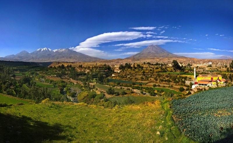 Arequipa y los 3 volcanes