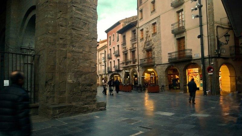 Porches de la Catedral