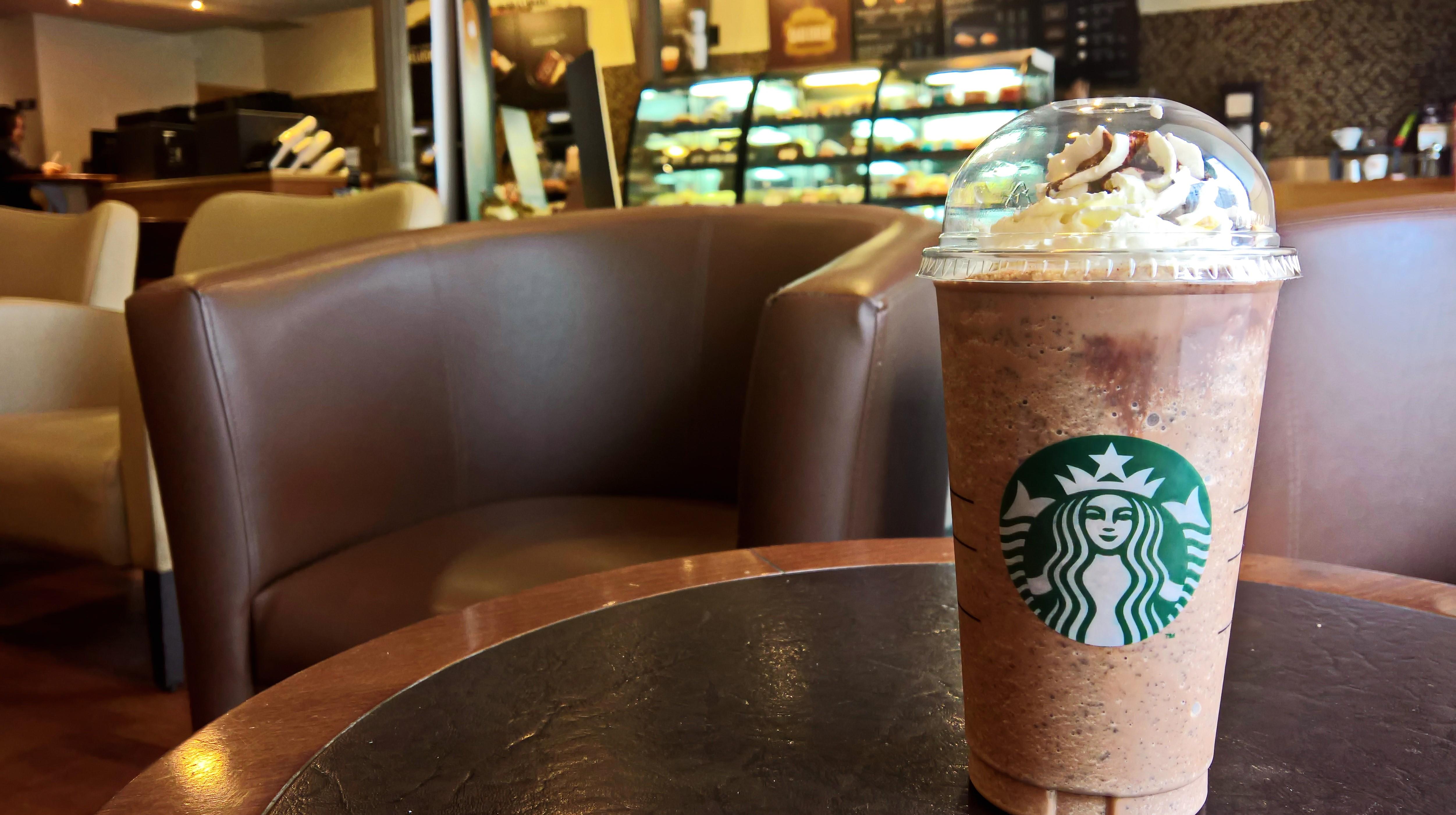 Starbucks, droga dura