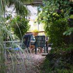 La Terrasse - Un detalle tras la vegetación