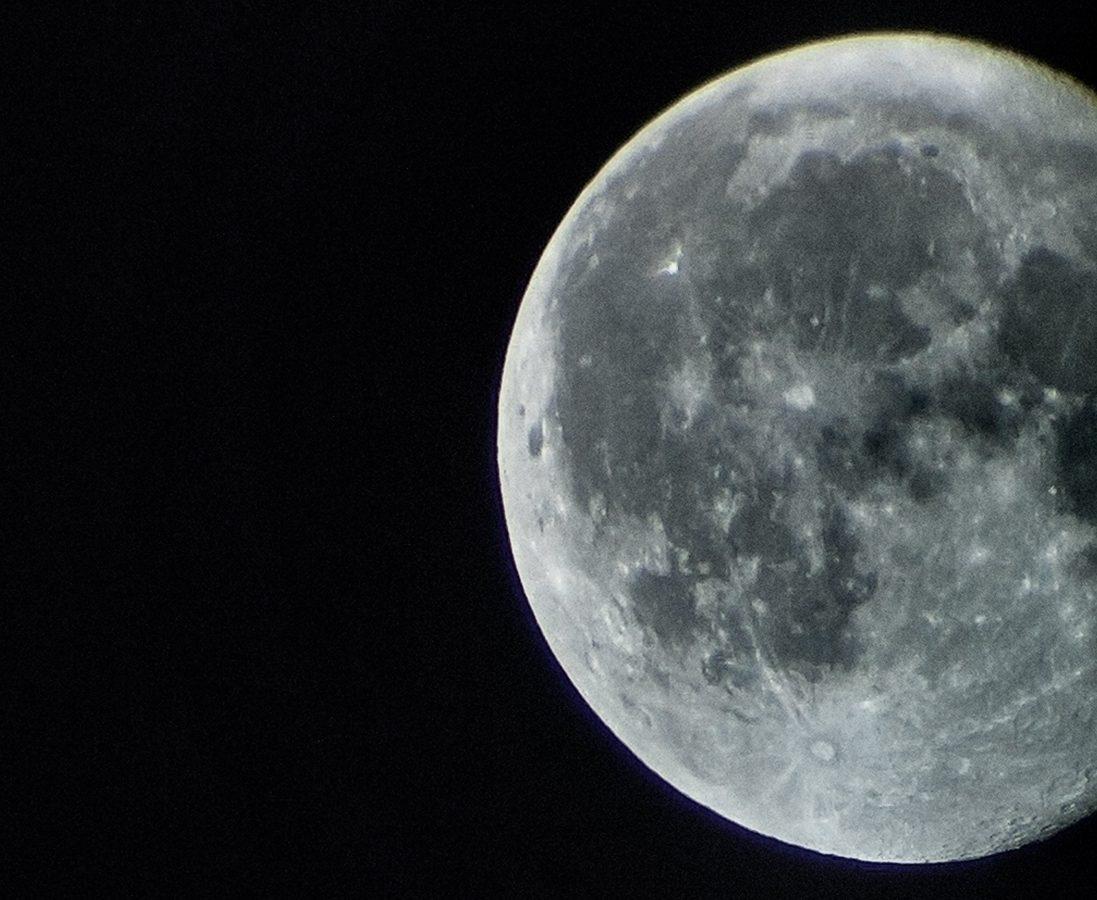 La luna muy de cerca