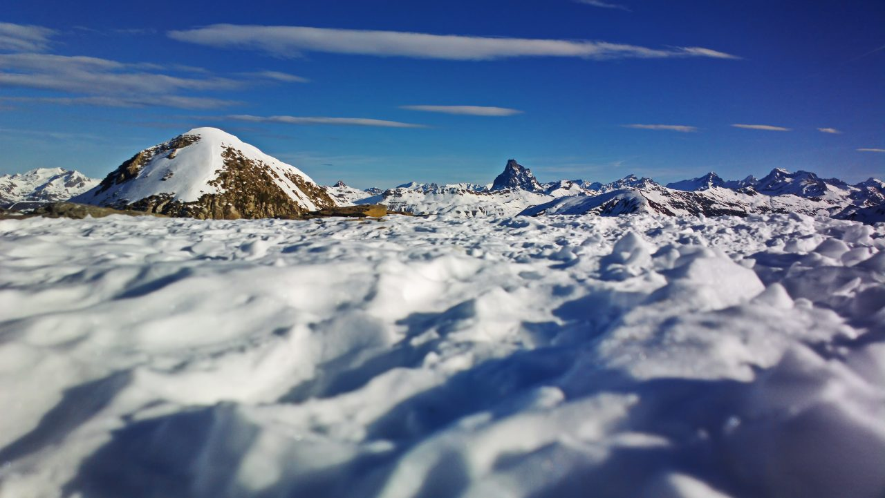 En la cima de Candanchú